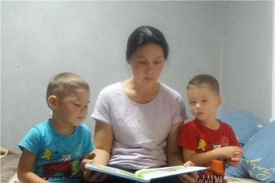 Активные читатели Сятракасинской сельской библиотеки присоединились к республиканской акции «День чтения вслух»