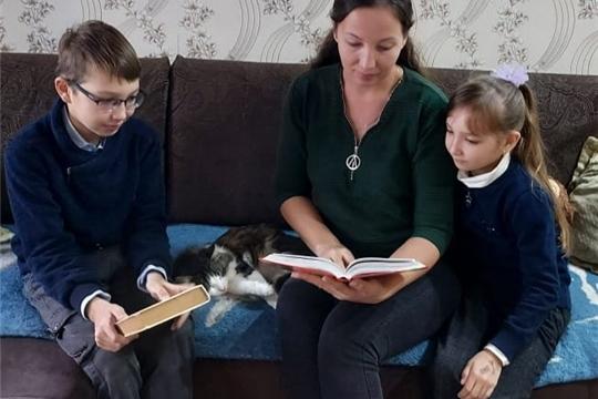 Активные читатели Первочурашевской сельской библиотеки присоединились к республиканской акции «День чтения вслух»
