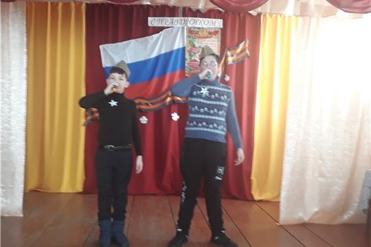 В рамках оборонно-массовой и спортивной работы, в честь Дня Защитника Отечества в Дубовском ЦСДК прошел игра-конкурс «А ну-ка, парни!»