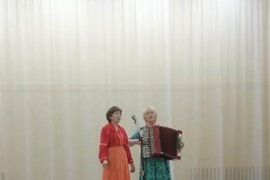 19  февраля в Шоршелском ЦСДК  состоялся концерт коллектива  «Ҫутӑ ҫӑл»
