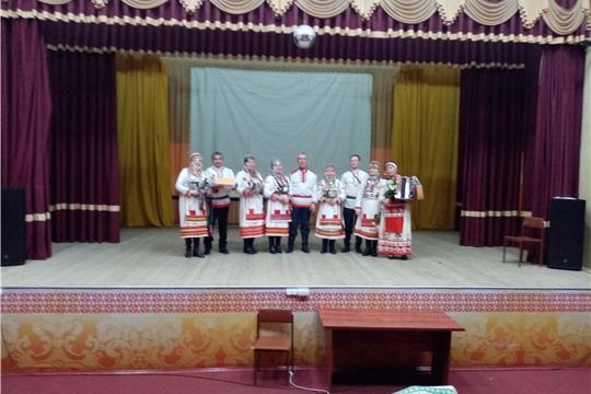 Коллектив «Ҫутӑ ҫӑл» при Шоршелском ЦСДК побывал со своей большой концертной программой в деревне Большое Камаево