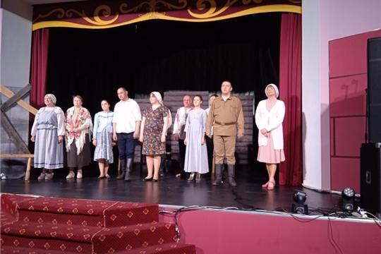 11 апреля 2021 года участники художественной самодеятельности Малокамаевского сельского клуба побывали на спектакле «Ляльки»