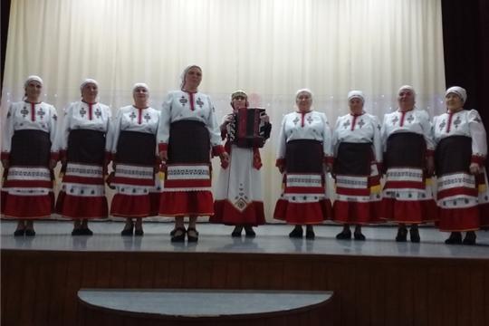 Выездной концерт коллектива «Илем».