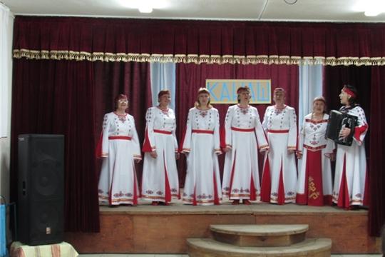 Концерт ко дню чувашской письменности в Первочурашевском ЦСДК