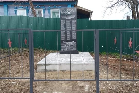 23 апреля культорганизатор Кушниковского СДК организовала субботник по уборке территории памятника погибшим воинам в Великой Отечественной войне
