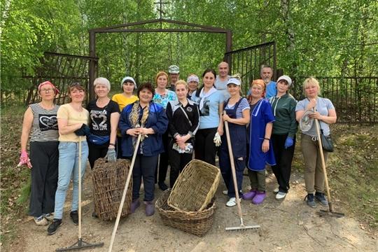 Работники культуры Шоршелского ЦСДК активные участники субботника