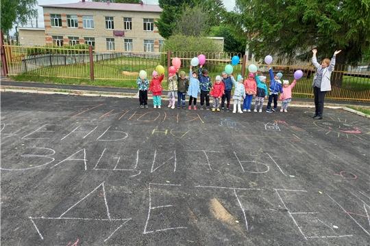 День защиты детей в Октябрьском ЦСДК