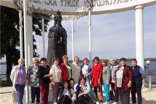 Гости из Вурнарского района познакомились с Мариинским Посадом и обменялись опытом работы