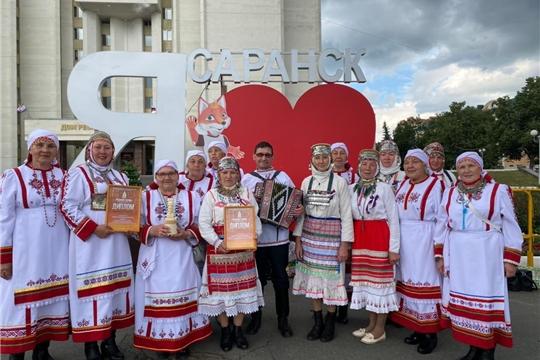 """Участие в IV Международном фольклорном фестиваль-конкурсе """"Предания старины в г. Саранск."""