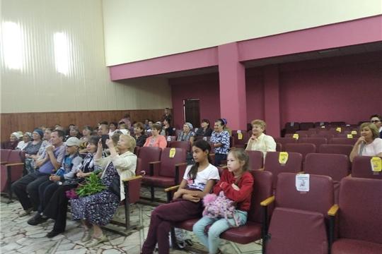 Концерт народного хора ветеранов Моргаушского РДК в Шоршелском ЦСДК.