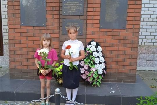 День памяти и скорби в деревне Малое Камаево.