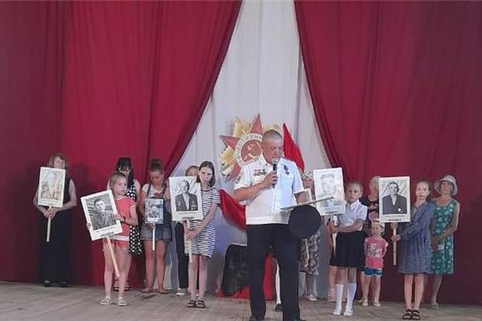 На базе Приволжского городского Дома культуры прошел вечер памяти «Мы помним»