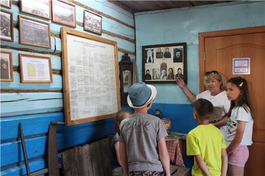 Урок мужества «Сюндюковцы - участники строительства Казанского оборонительного рубежа»