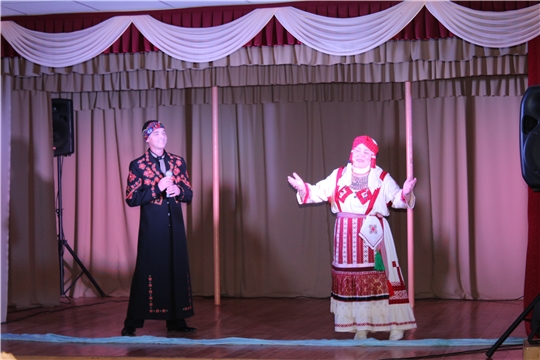 Чувашский театр кукол в д. Сюндюково