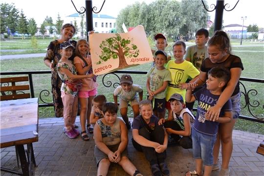 В рамках международного Дня дружбы работники РДК и Т  провели для детей квест-игру «Найди клад!»