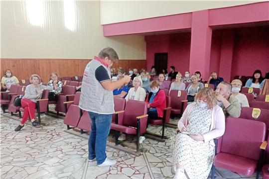В Шоршелском ЦСДК перед открытием нового творческого сезона состоялся семинар работников культуры Мариинско-Посадского района