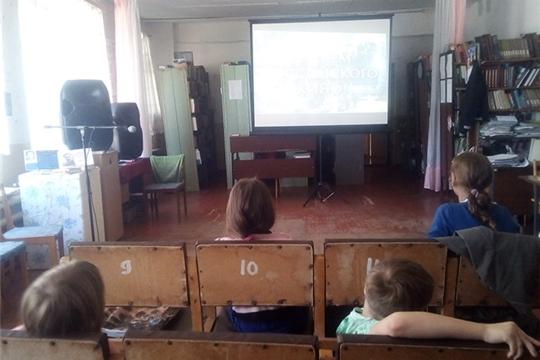 """Час кино """"Что такое Синема"""" в Кугеевском ЦСДК"""