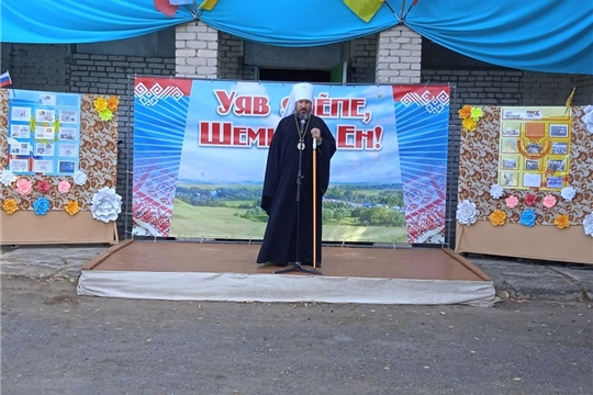 Коллектив «Илем» - на празднике в селе Акулево.