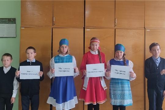 Кугеевский ЦСДК присоединился к флешмобу «Мы против терроризма!».
