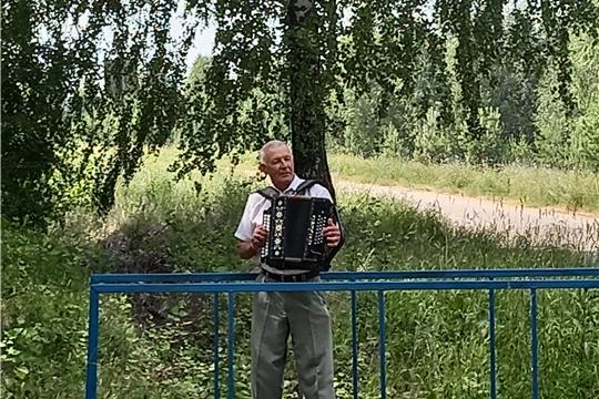 Представитель Октябрьского сельского поселения на республиканском конкурсе « Чувашские переливы»