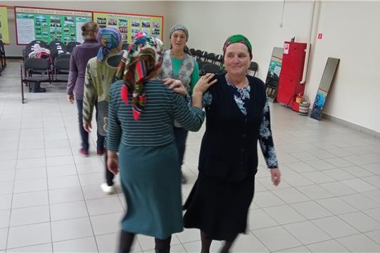 7 сентября в Сутчевском ЦСДК состоялась оздоровительная программа «Утро с танцами»