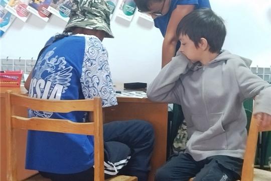 Турнир по шашкам в Аксаринском ЦСДК