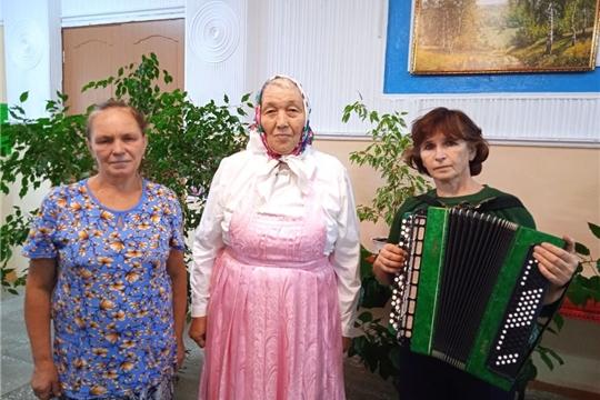В Малокамаевском сельском клубе 07 сентября 2021 года состоялась репетиция ансамбля «Илем»