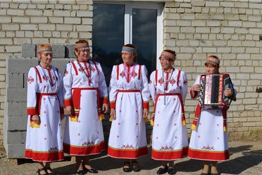 В деревне Карабаши состоялось открытие пожарного депо и детской площадки