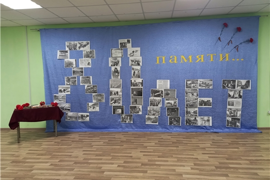 В Октябрьском ЦСДК открылась фотовыставка «80 лет памяти»