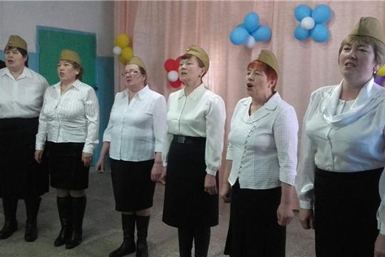 Ансамблю «Сеспель»  Большекамаевского сельского клуба исполнилось 3 года.