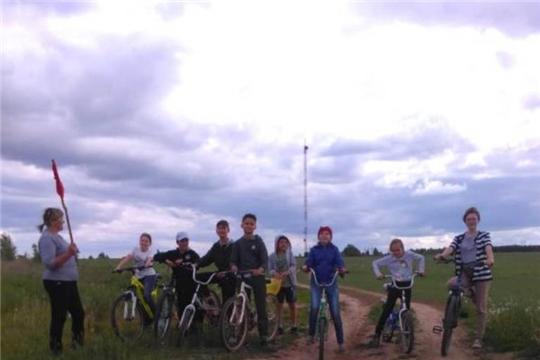 Веселый велопробег в с.Покровское
