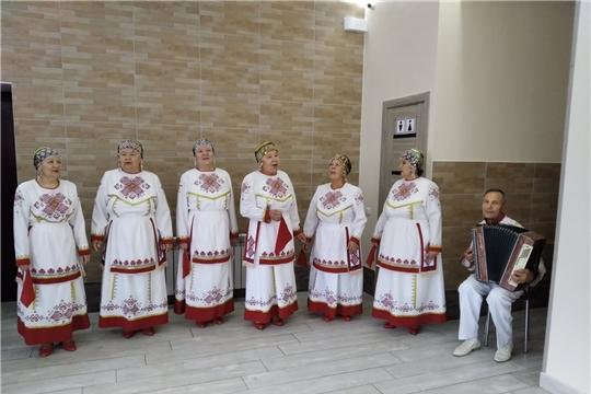 Народный хор чувашской песни принял участие в Фестивале национальной кухни