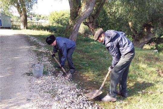 Экологический субботник в деревне Малое Камаево.