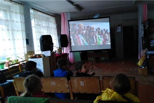 22 сентября в Кугеевском ЦСДК состоялся видеолекторий, под названием «Россия – многонациональная страна»