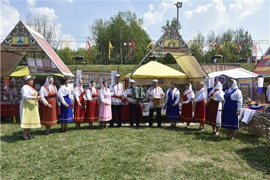 Моргаушцы на Всечувашском празднике «Акатуй»