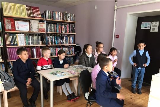 В Сыбайкасинском СК провели мероприятие «Читаем, учимся, играем»