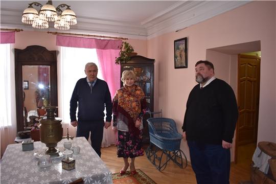 Музей посетили Депутат Государственной Думы Российской Федерации Анатолий Аксаков и помощник Главы Чувашии Олег Моляков