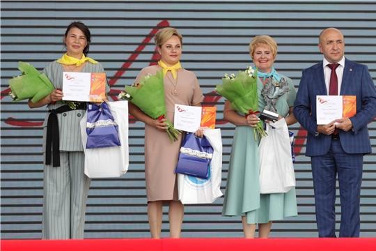 Торжественное награждение участниц первого республиканского конкурса «Я – женщина».