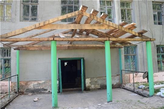 Идет ремонт Питеркинского и Штанашского сельских Домов культуры