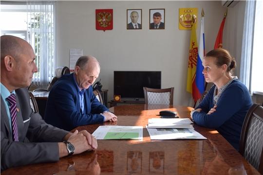 Красночетайский район посетила министр культуры, по делам национальностей и архивного дела Чувашской Республики Роза Лизакова