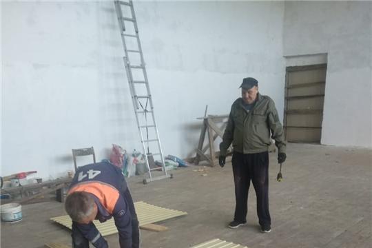 Близится к завершению ремонт Питеркинского сельского Дома культуры