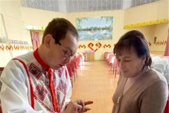 Атнарский СДК присоединился к празднованию Дня чувашской вышивки