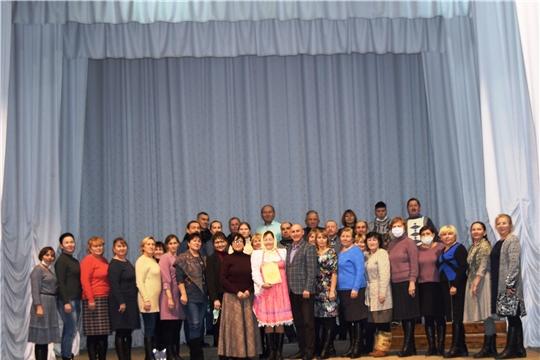 В РДК состоялся семинар-практикум для работников КДУ (руководителей фольклорных коллективов) Красночетайского, Шумерлинского и Ядринского районов