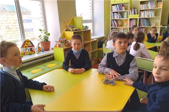 В отделе по работе с детьми для учащихся 3 Б класса Красночетайской СОШ провели познавательный час «Год науки шагает по стране»