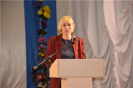 Министр культуры, по делам национальностей и архивного дела Чувашской Республики Светлана Каликова посетила Красночетайский район
