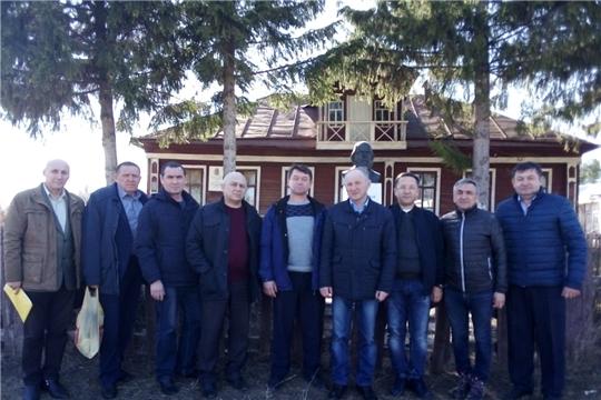 18 апреля делегация посетила Пандиковский музей