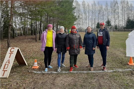Участие в традиционном легкоатлетическом кроссе «Весна – 2021»