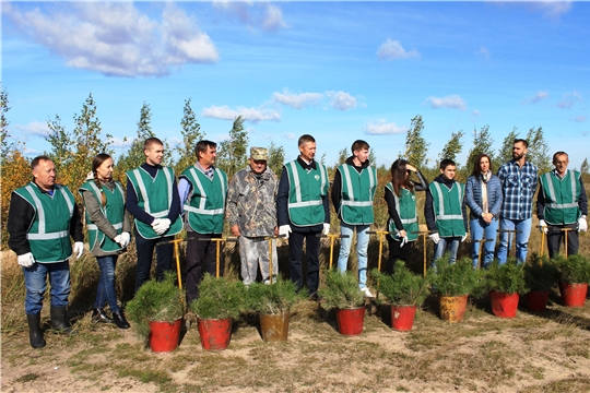 В Чувашии сотрудники Управления Россельхознадзора приняли участие в экологической акции «Зеленая Россия»