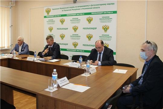 Заседание Общественного совета при Управлении Россельхознадзора