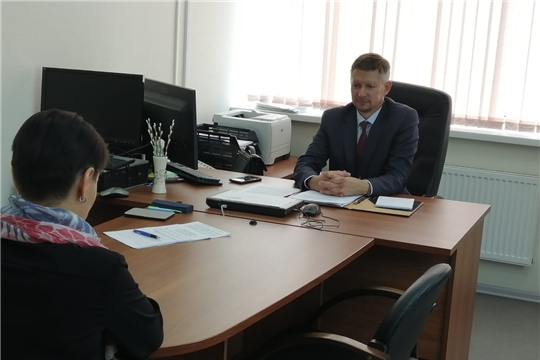 Руководитель Управления Россельхознадзора провел прием граждан